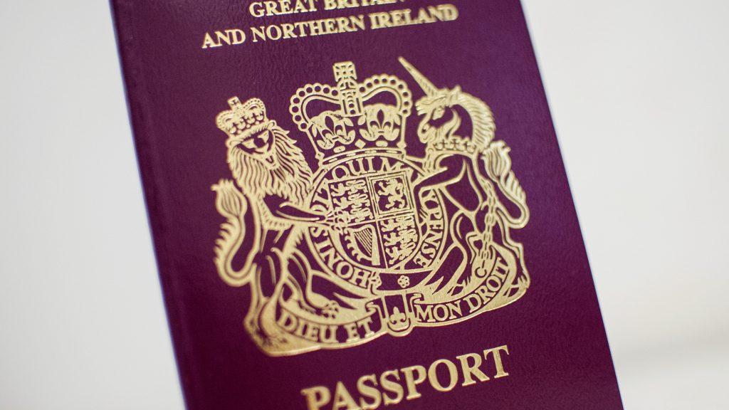پاسپورت انگلیسی